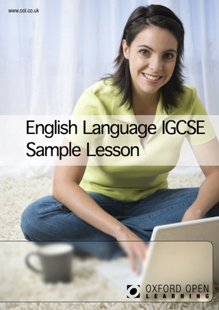 English Language IGCSE sample lesson cover image