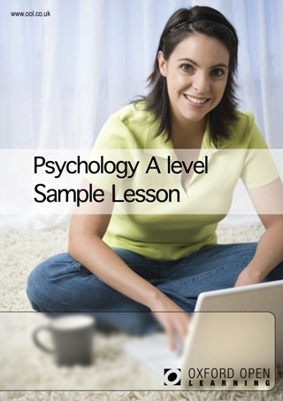 Psychology A level sample lesson cover image
