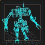 Robot_wireframe