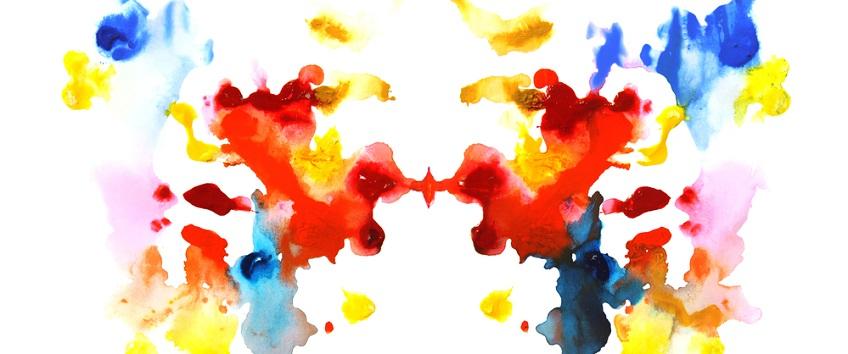 colourful rorschach image